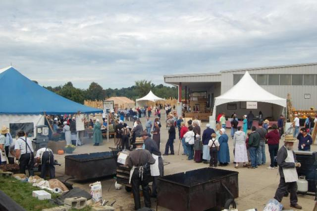 Food and fun at Log Cabin Days in Loudonville, Ohio