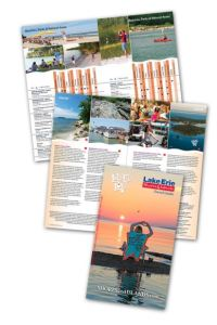 2016 Lake Erie Shores & Islands Travel Guide Cover – Courtesy of Lake Erie Shores & Islands®